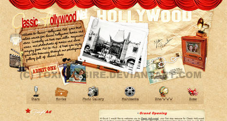 Classic Hollywood Layout by toxicdesire