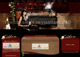 Catherine Bell Layout II by toxicdesire