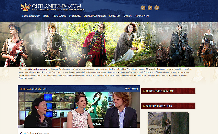 Outlander Layout #2 by toxicdesire