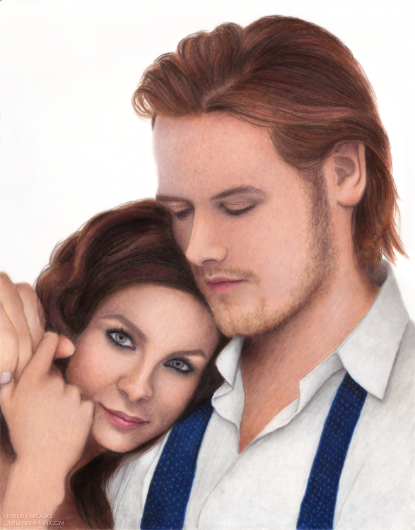 Caitriona Balfe and Sam Heughan by toxicdesire