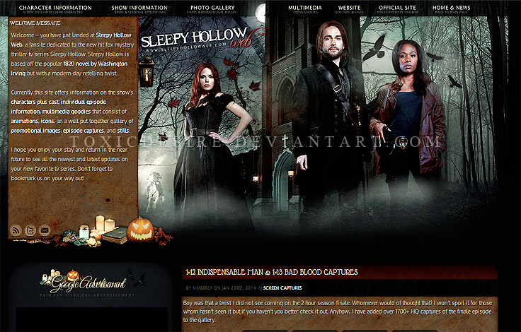 Sleepy Hollow Theme by toxicdesire