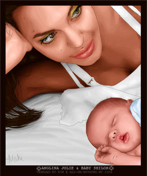 Angelina Jolie and Baby Shiloh