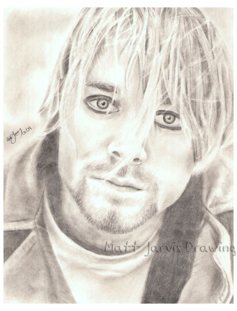Kurt Cobain by lloveandsqualor