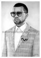 Kanye West by lloveandsqualor
