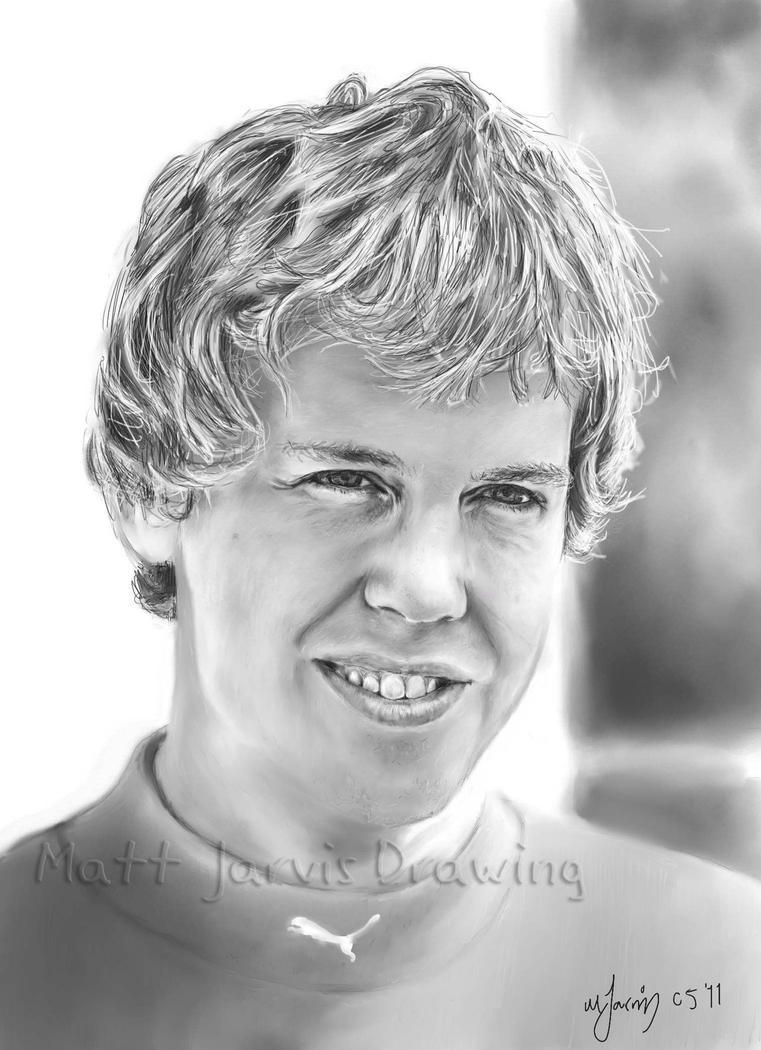 Sebastian Vettel by lloveandsqualor