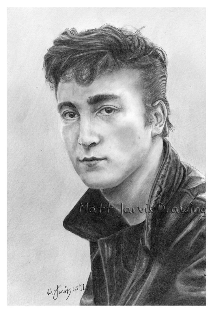 John Lennon by lloveandsqualor