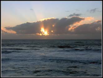 Lucky Sunset by adarael
