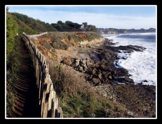 Seaside Path by adarael