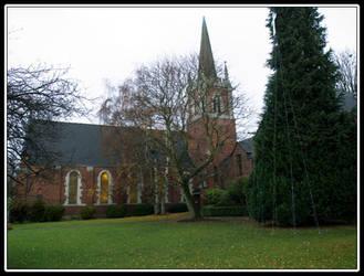 Queen Anne Church by adarael