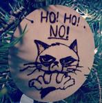 Ho! Ho! No! Grumpy cat