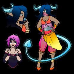 Rimoria Race: Treasue Demons by bubble-fan
