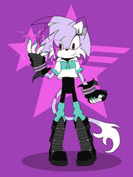 Electra the Cat - Sonic Forces by Aimorragia