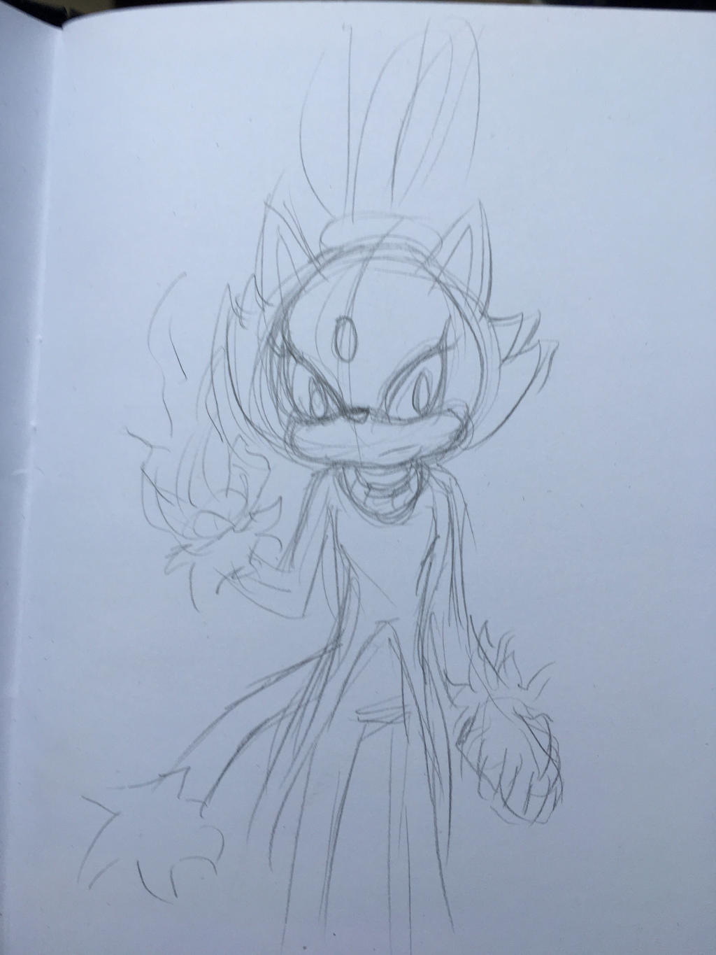 Blaze the Cat- sketch by Aimorragia