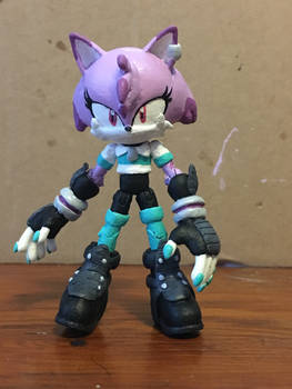 Electra the Cat Custom figure(remake)