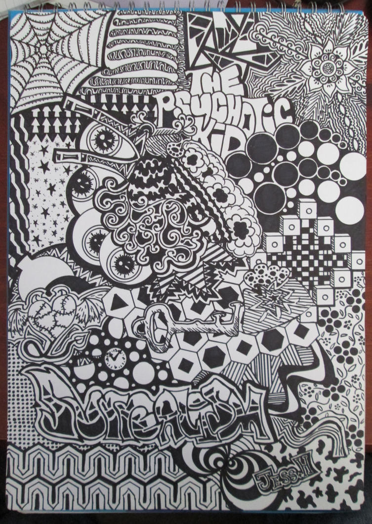 Easy Abstract Doodles And punk!louis doodle by Images - Frompo