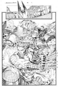 X-Men pg. 1