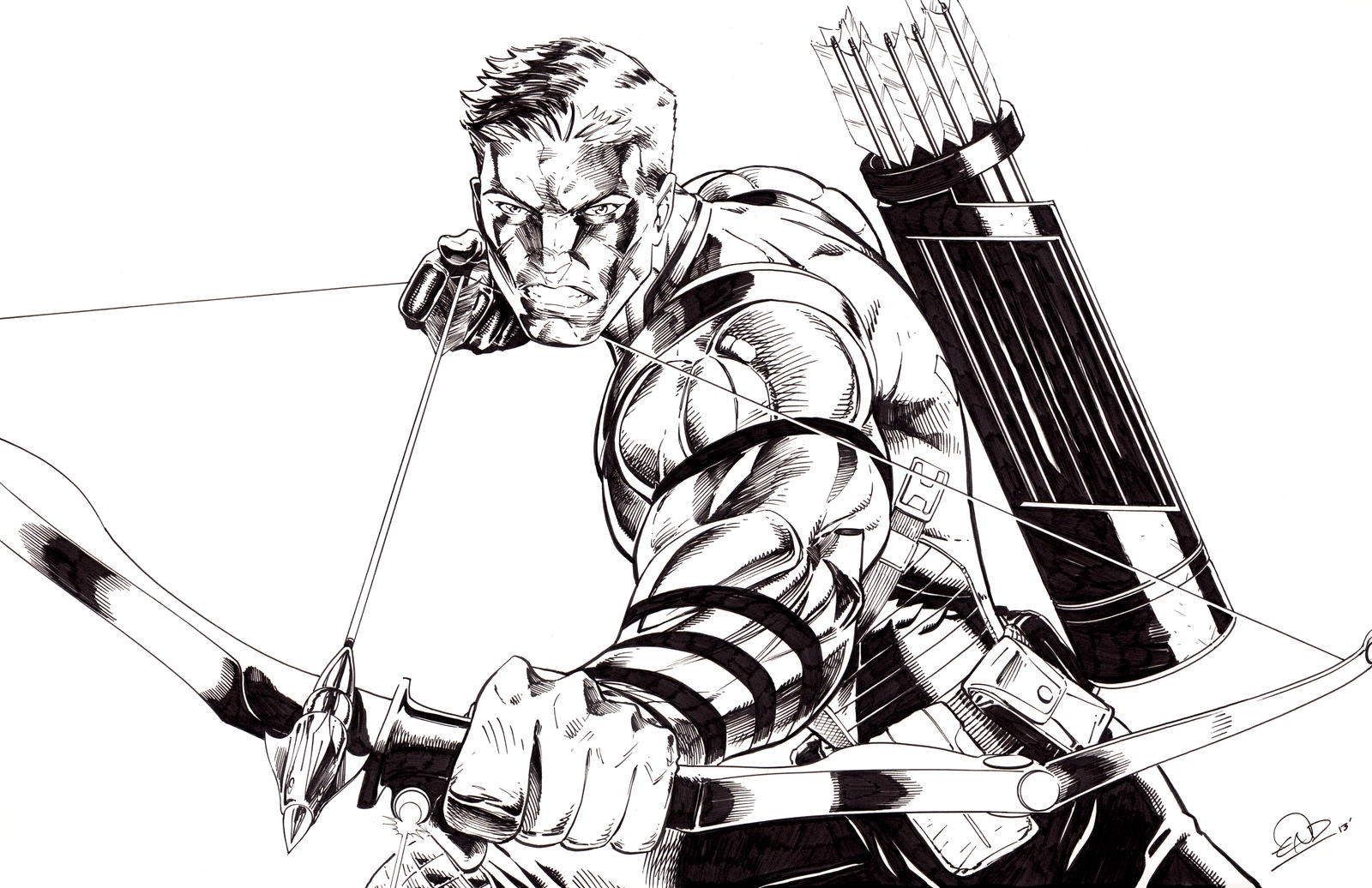 Hawkeye Comish by SaviorsSon