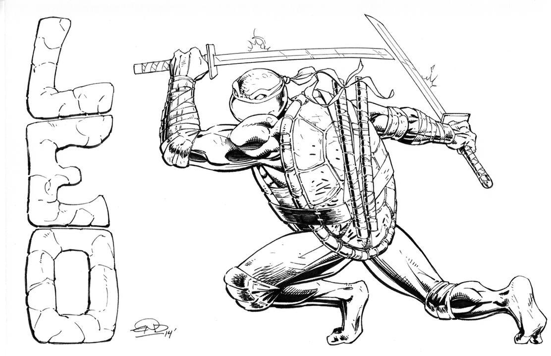 Leonardo Inks by SaviorsSon