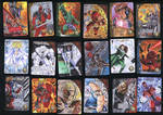 Marvel 3D Upper Deck Sketch Cards by SaviorsSon