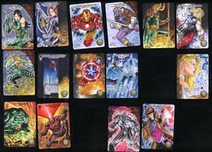 Marvel 3D Upper Deck Sketch Cards 2