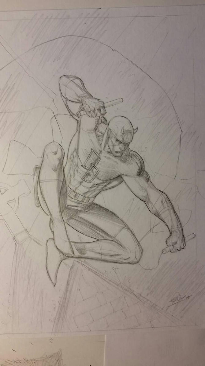 Daredevil Wip by SaviorsSon