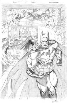 Batman: ArkhamUnhinged Samples pg 1