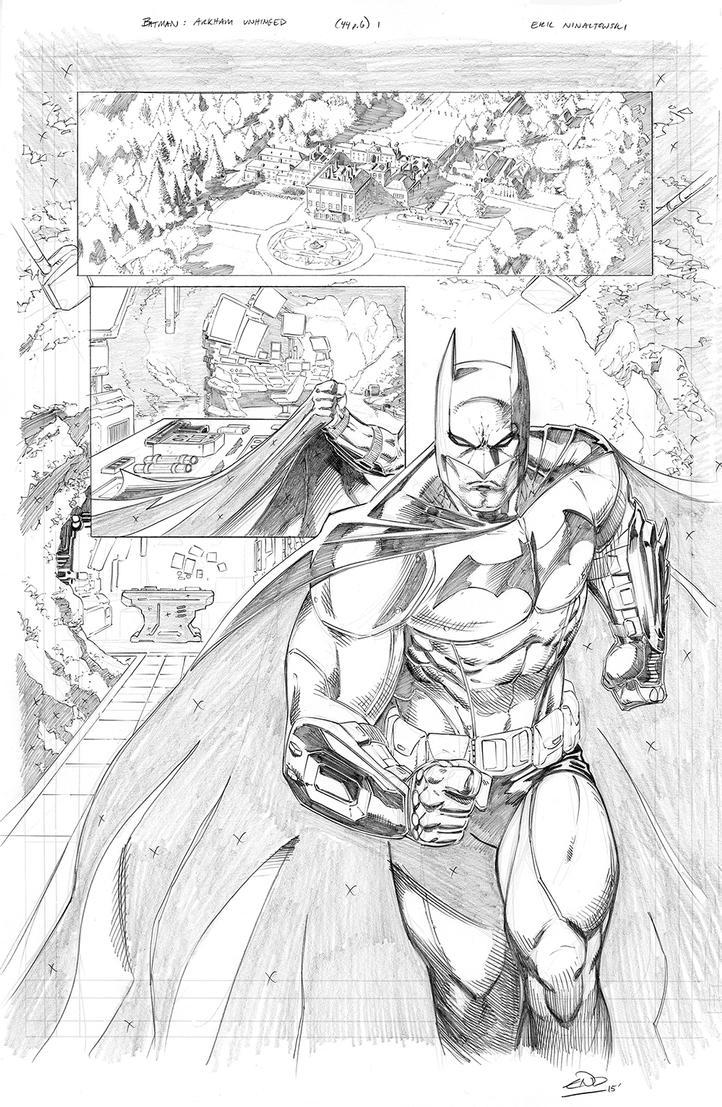 Batman: ArkhamUnhinged Samples pg 1 by SaviorsSon