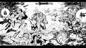 Justice League Darkseid War- Sketchcover All