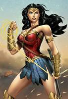Wonder Woman- Batman v Superman by SaviorsSon