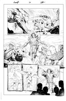 Monomyth page26 Inks
