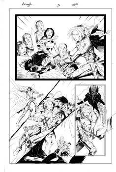 Monomyth pages 28 Inks