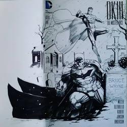 Dark Knight III sketchcover Inks