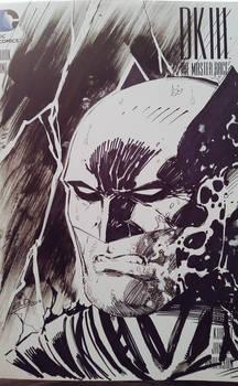Dark Knight Headshot Sketchcover