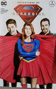 Supergirl Sketchcover