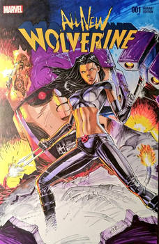 X-23 Sketchcover Colors