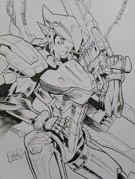 Pharah Overwatch Inks