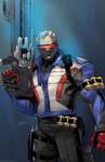 Soldier 76 Overwatch Art