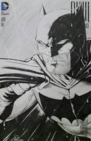 Batman Dark Knight III Sketchcover  by SaviorsSon