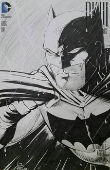 Batman Dark Knight III Sketchcover