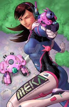 D.VA Overwatch Colors