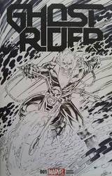 Ghost Rider Inks by SaviorsSon