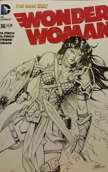 Wonder Woman Sketchcover