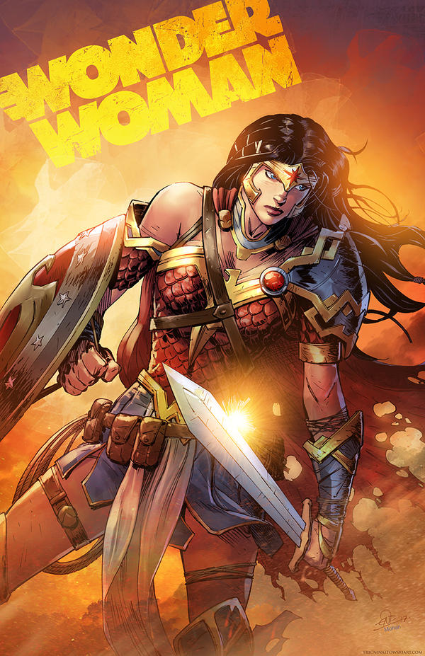 Wonder Woman Colors by SaviorsSon