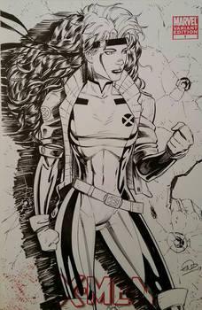 Rogue X-Men Sketchcover