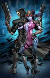 Widowmaker and Reaper Overwatch