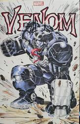 Venom - Venomverse Hulkbuster by SaviorsSon