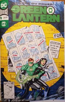 Green Lantern Sketchcover Byrne Tribute