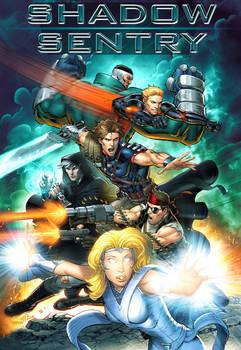 Shadow Sentry - My New Superhero Team Comic