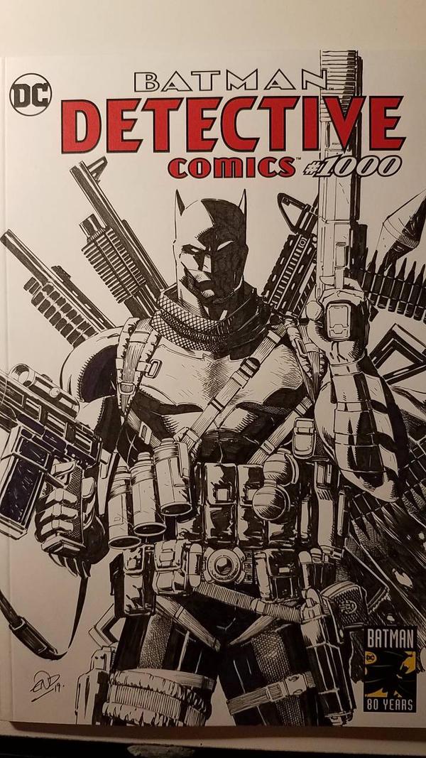 Batman Detective Comics #1000 Grim Knight SC