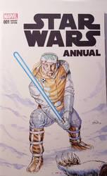 Star Wars Annual Luke Skywalker Sketchcover